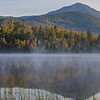 Fall Sunrise at Connery Pond Panorama
