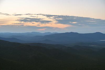 Sunset from Wright Peak
