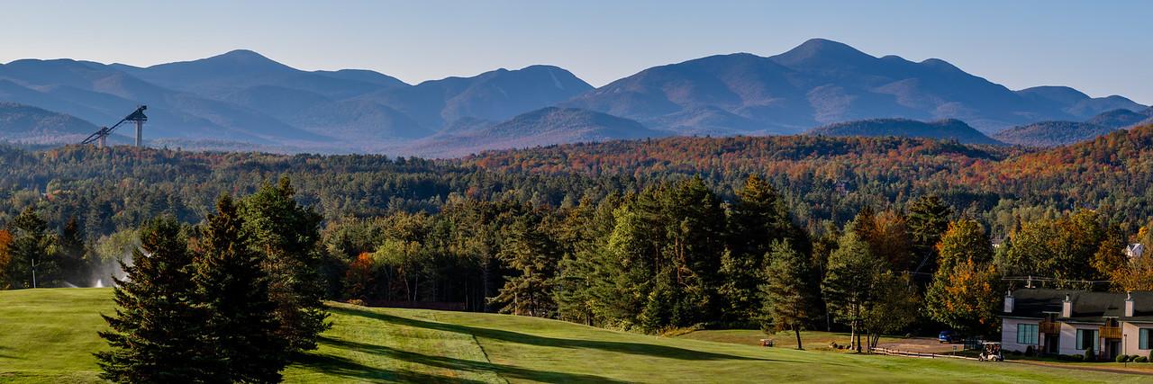 Fall Foliage in the Adirondack High Peaks
