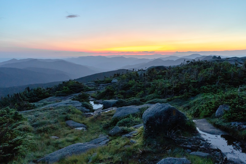 Dawn from Mt. Marcy