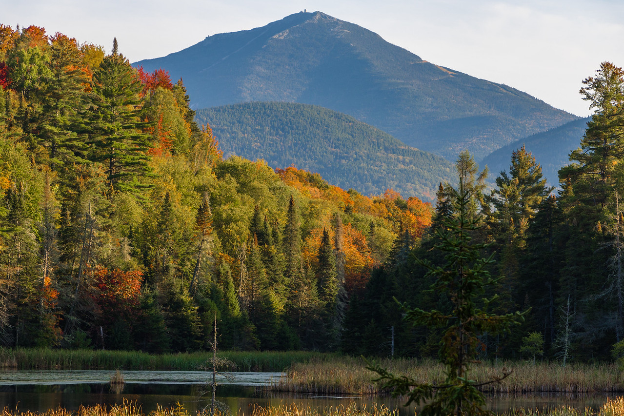 Fall Foliage at Whiteface Mt.