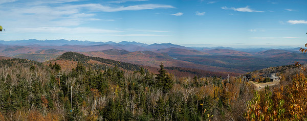 Adirondack Panorama from Gore Mt.