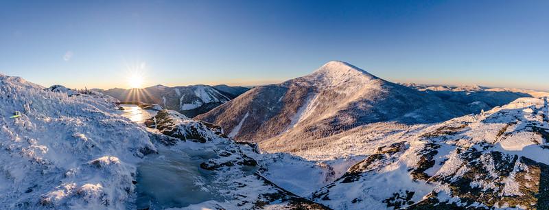 Winter Summit Panorama from Wright Peak