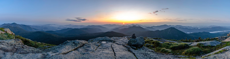Sunrise Panorama from Mt. Marcy