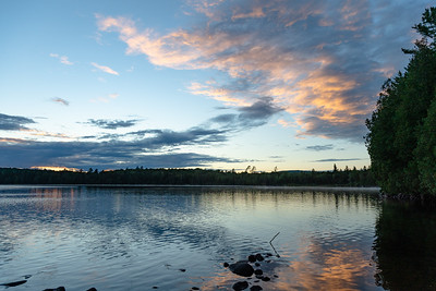 Little Tupper Lake Sunset