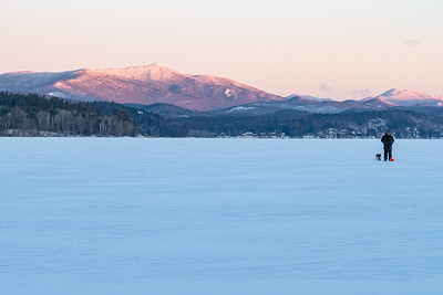 Sunrise from Schroon Lake