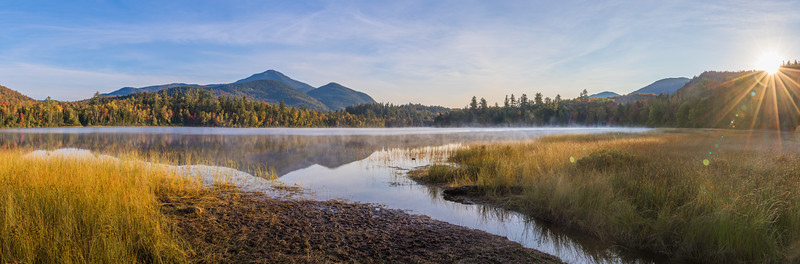 Connery Pond Sunrise Panorama
