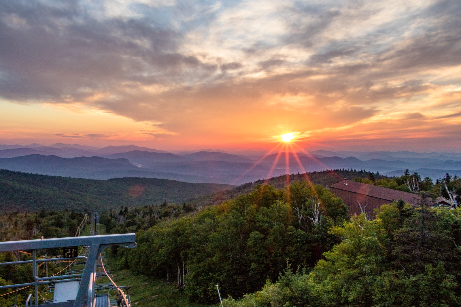 Sunrise from Gore Mountain