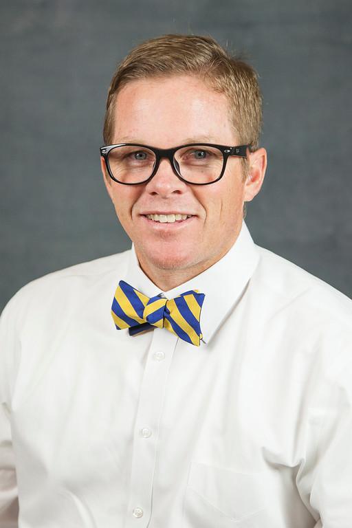 Casey Eagleburger, Principal, Smith Junior High
