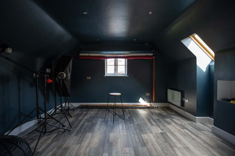 The Studio in Natural Light
