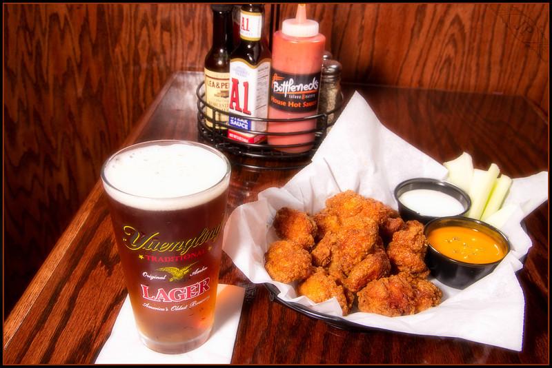 Boneless Wings and Beer