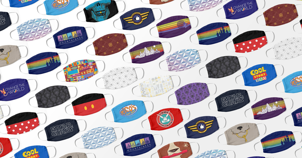 2020 MAY SALE: Discover deals on a wide variety of Disney-related face masks, tees, and more!