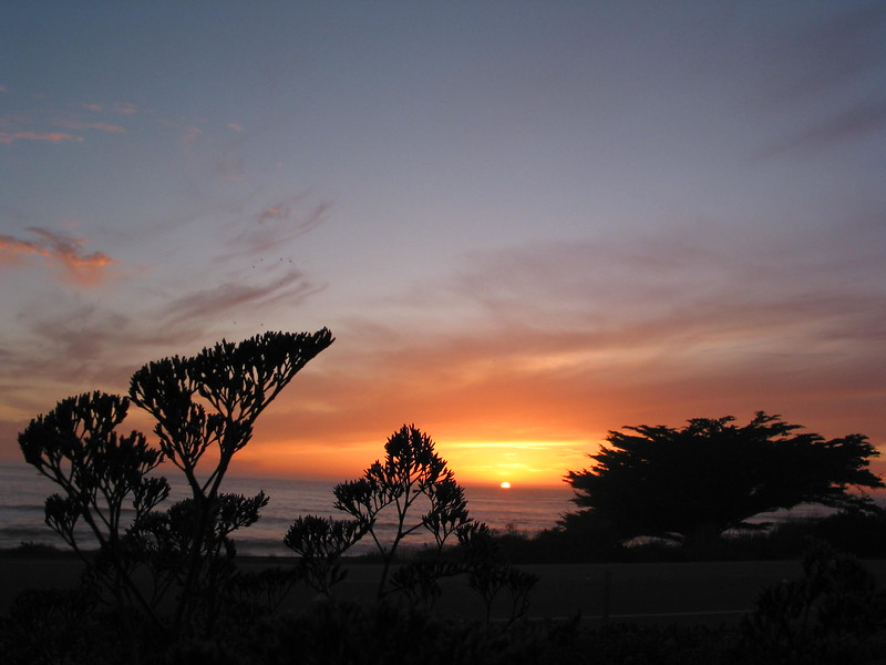 Sunset at Cambria