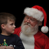 """Santa, how did you know I wanted a telescope? (When he sat down with Santa, Santa said """"I'll bet you want a telescope""""; our grandson had just put a telescope on his list a few days earlier. Hey, Santa knows!)"""