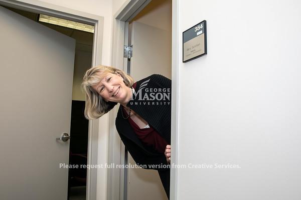 Mary Schifferli, Scalia Law School.  Photo by:  Ron Aira/Creative Services/George Mason University