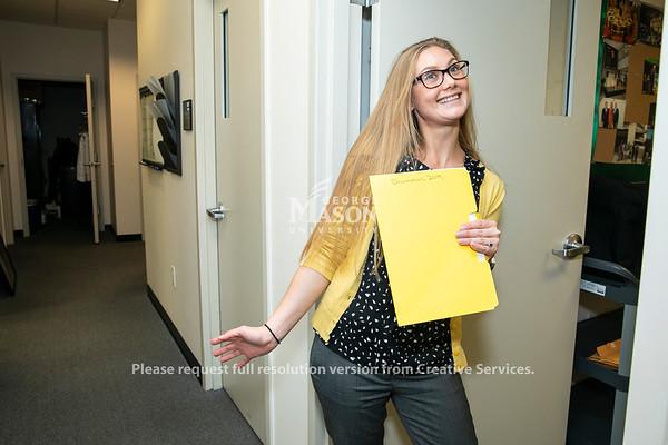 Kolena Thomas, Scalia Law School.  Photo by:  Ron Aira/Creative Services/George Mason University