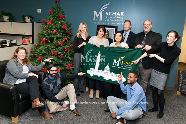 Schar.  Photo by:  Ron Aira/Creative Services/George Mason University