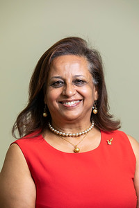 Dolly Oberoi, Board of Visitor (BOV) member.  Photo by:  Ron Aira/Creative Services/ George Mason University