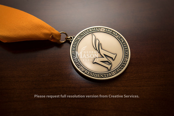 Presidential Faculty Excellence Award medal