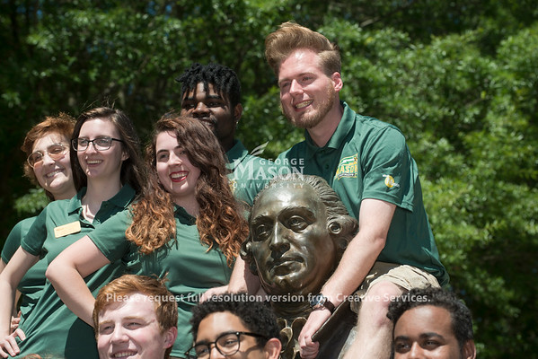 2018-19 Patriot Leaders.  Photo by Bethany Camp/Creative Services/George Mason University