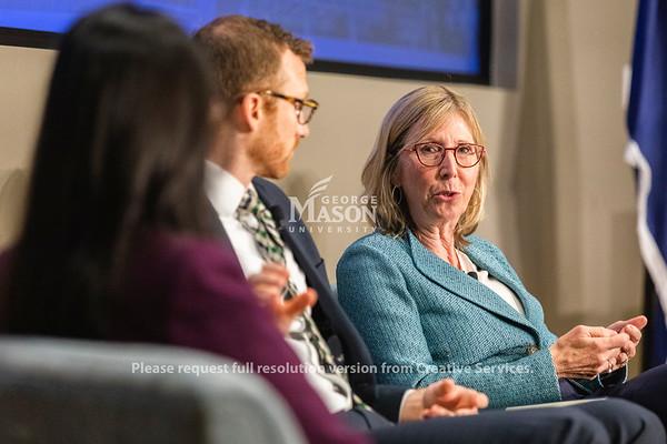 Carol Kissal, George Mason University Vice President Administration and Finance at the 2019 P3•EDU conference. Photo by Lathan Goumas/Strategic Communications