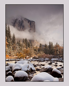 First Snow, Yosemite Valley.