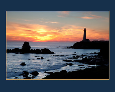 Pigeon Point Lighthouse, Pescadero.