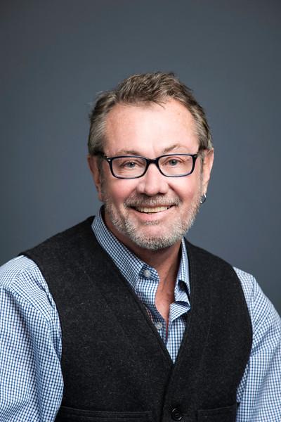 Buzz McClain, Communications Manager, Strategic Communications.  Photo by:  Ron Aira/Creative Services/George Mason University