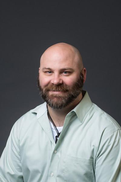 P.J. Moore, Assistant Professor, INTO Mason. Photo by Creative Services/George Mason University