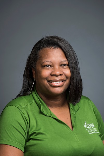 Myra Gibson, Housing and Residence Life, Assistant Director of Billing and Occupancy. Photo by:  Ron Aira/Creative Services/George Mason University