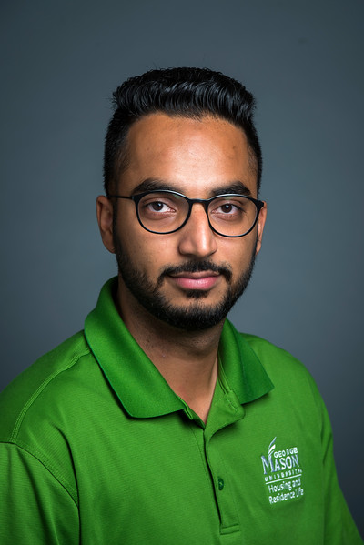 Paramjit S Pannu, Neighborhood Facilities Manager, Housing and Residence Life.  Photo by Evan Cantwell/Creative Services/George Mason University