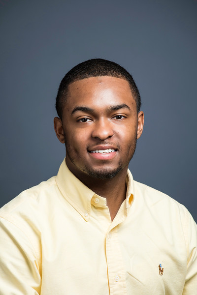 David Reed, Administrative Assistant, OCM.  Photo by:  Ron Aira/Creative Services/George Mason University