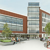 A rendering of the new College of Health and Human Services building at Fairfax Campus. Provided by Perkins Eastman<br /> ***RENDERING AS OF 6/15