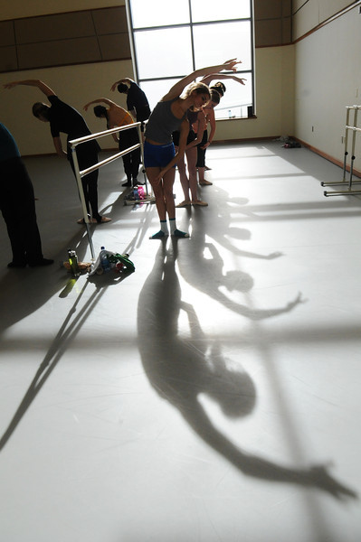 College of Visual and Performing Arts Dance students