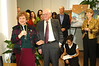 Don and Nancy de Laske at the practice room opening and ribbon cutting cermony on Nov. 30, 2005.