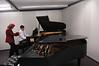 School of music practice rooms