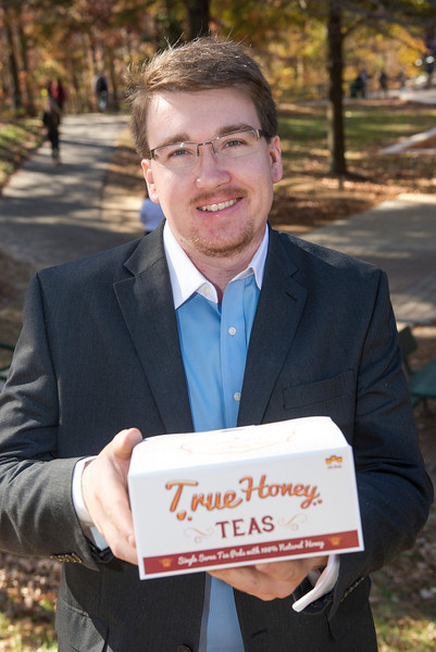 Chris Savage, founder of True Honey Teas.
