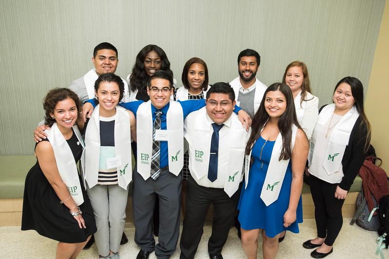 EIP graduating class at the B.O.V. 2017.  Photo by:  Ron Aira/Creative Services/George Mason University