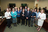 The Jack Wood Award recipients during the 2016 BOV meeting.  Photo by:  Ron Aira/Creative Services/George Mason University