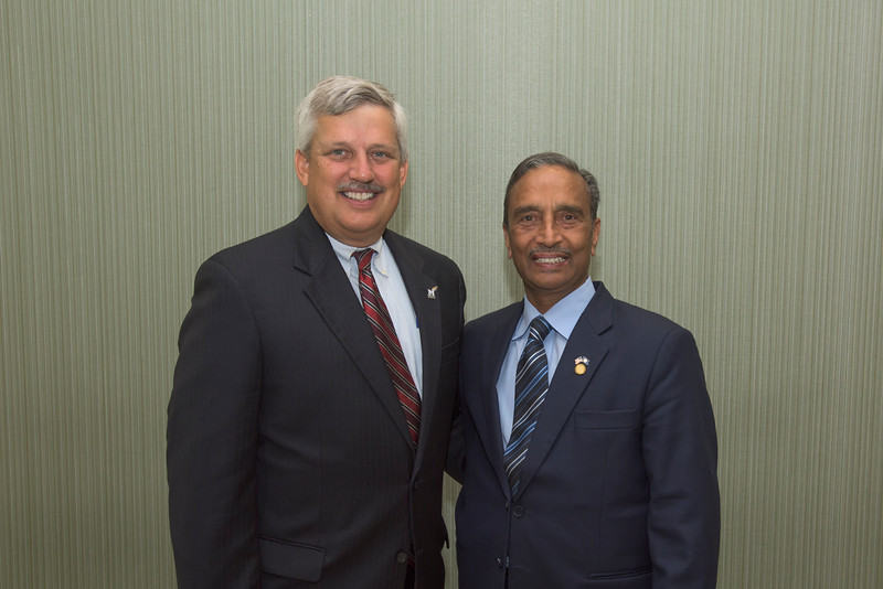 Ed Dittmeier and Siddique Sheikh