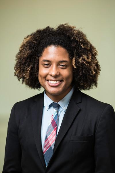 Christian Suero, Student Representative, Board of Visitors.  Photo by Ron Aira/Creative Services/George Mason University