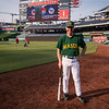 Rep. Rob Wittman, R-Va.  wears a George Mason Baseball