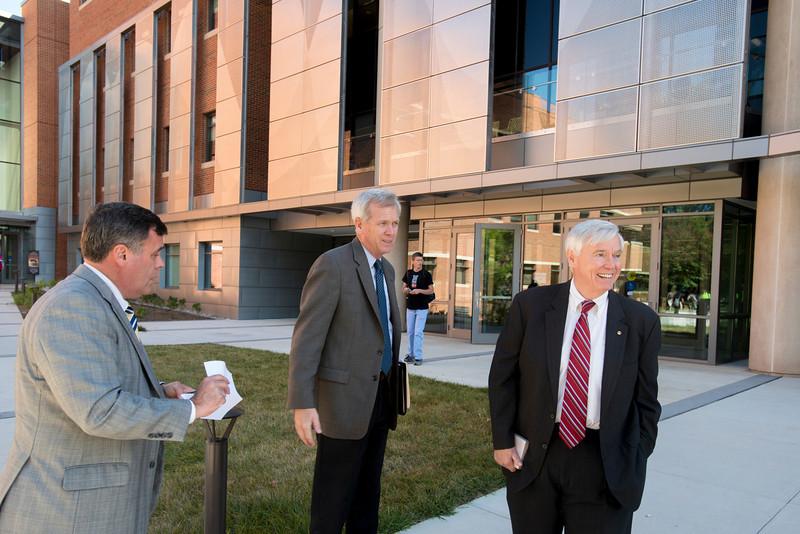 William Howell, Speaker of the Virginia House of Delegates, visits Mason