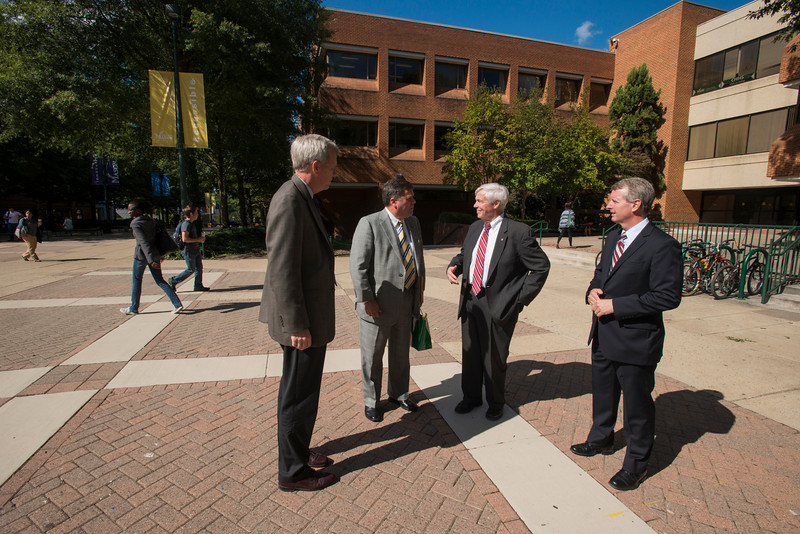 William Howell, Speaker of the Virginia House of Delegates, visits Mason
