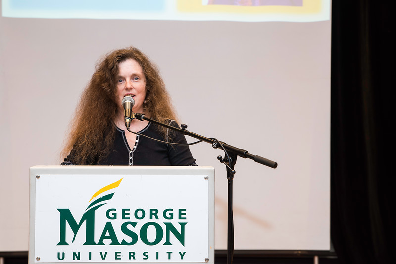 Stacy Remick-Simkins.  Photo by:  Ron Aira/Creative Services/George Mason University