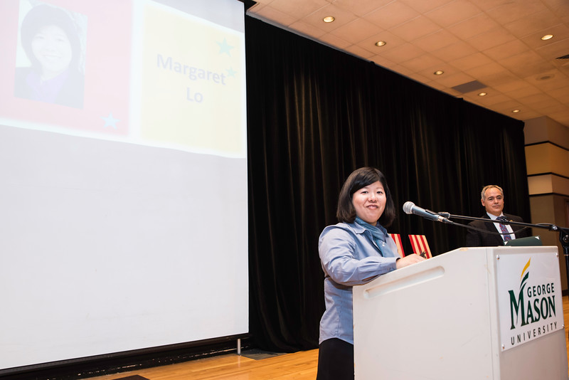 Margaret Lo  Photo by:  Ron Aira/Creative Services/George Mason University