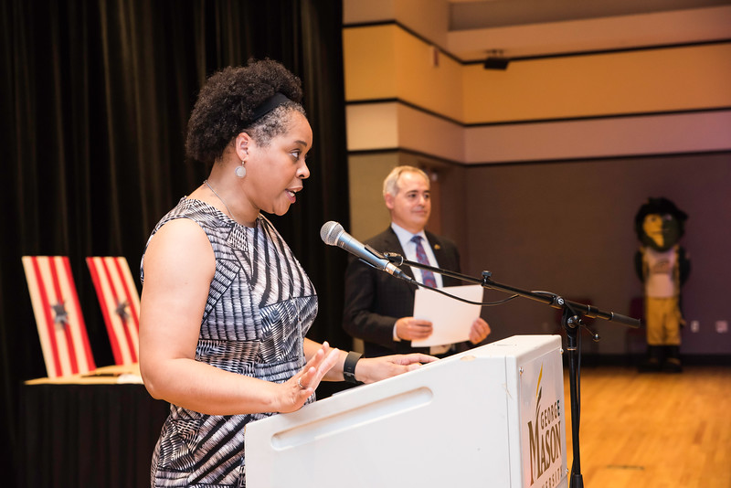 Shernita Parker.  Photo by:  Ron Aira/Creative Services/George Mason University