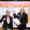 Nancy Pickens and Debbie Brady.  Photo by:  Ron Aira/Creative Services/George Mason University