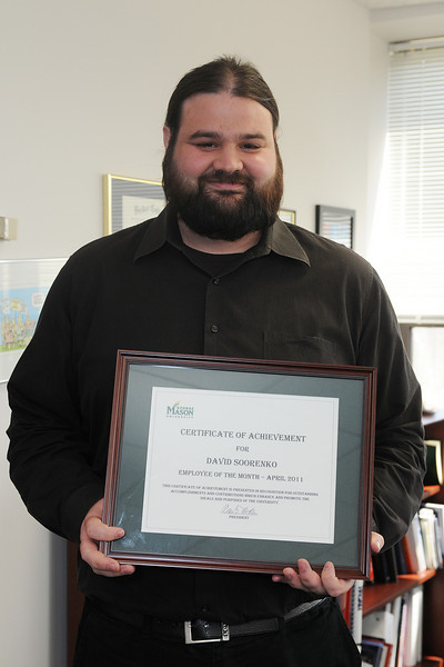 Employee of the Month David Soorenko, CHSS Academic Affairs