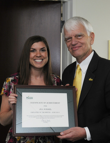 Employee of the Month Jill Scharl, Undergraduate Administrative Assistant, Economics